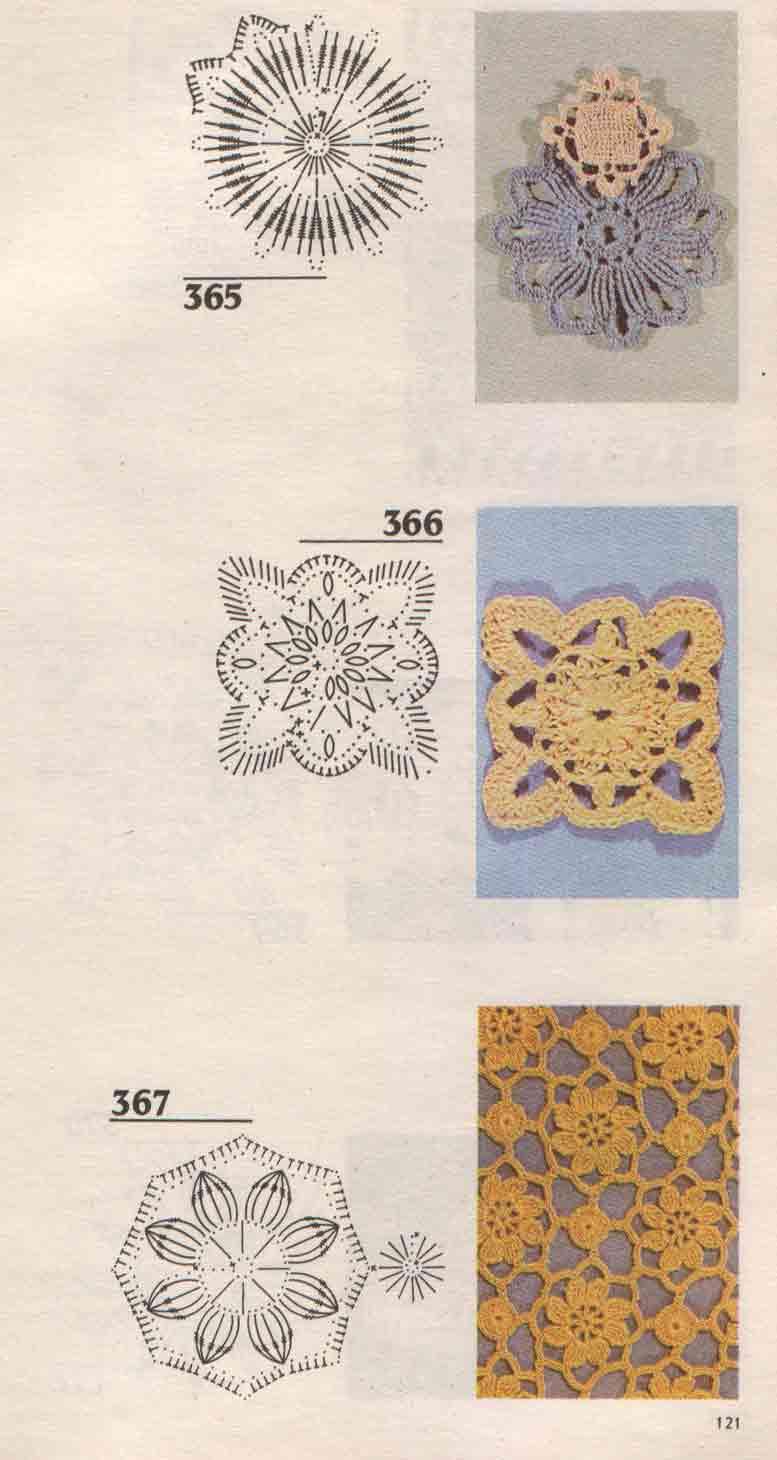 Вязание крючком спицами узор схема 67
